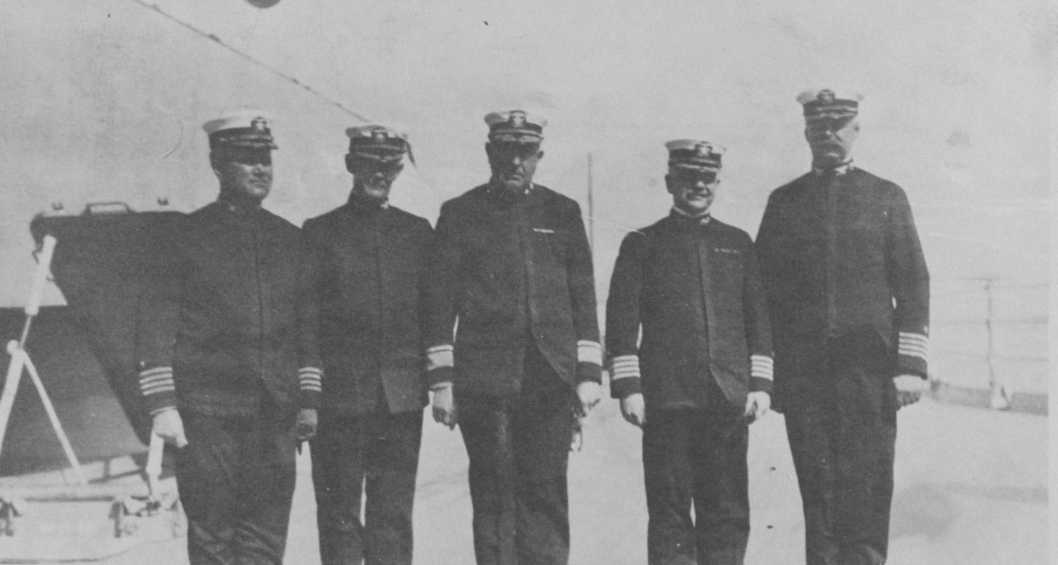 Commanding officers sixth battle squadron North Sea.