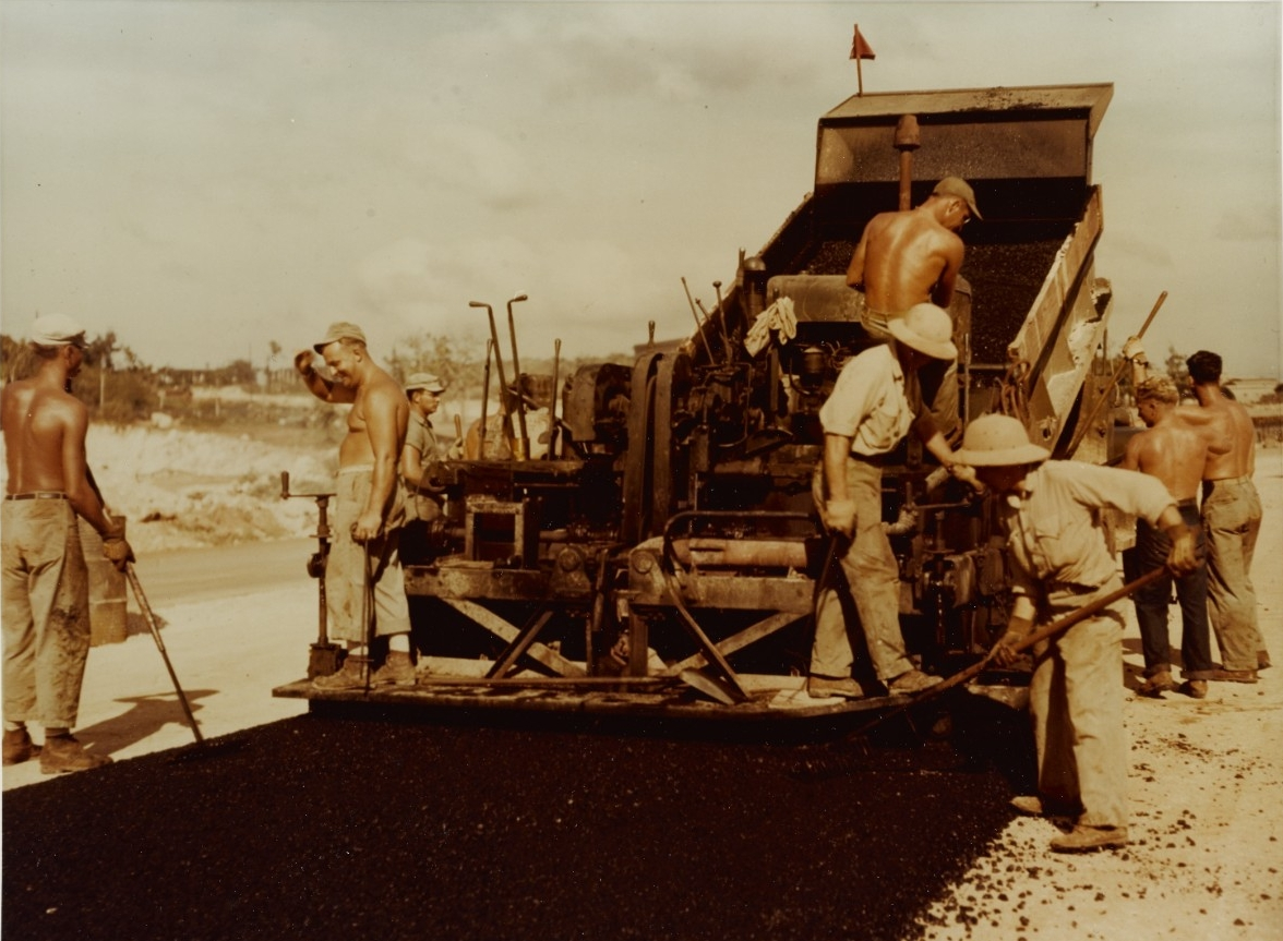 "Navy construction Battalion road crew  ("" Seabee"")"