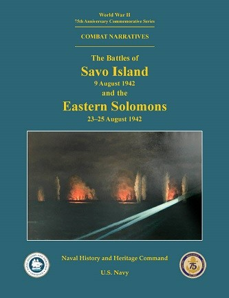 Cover thumbnail for 75th-anniversary republication of Battle of Savo Island ONI combat narrative