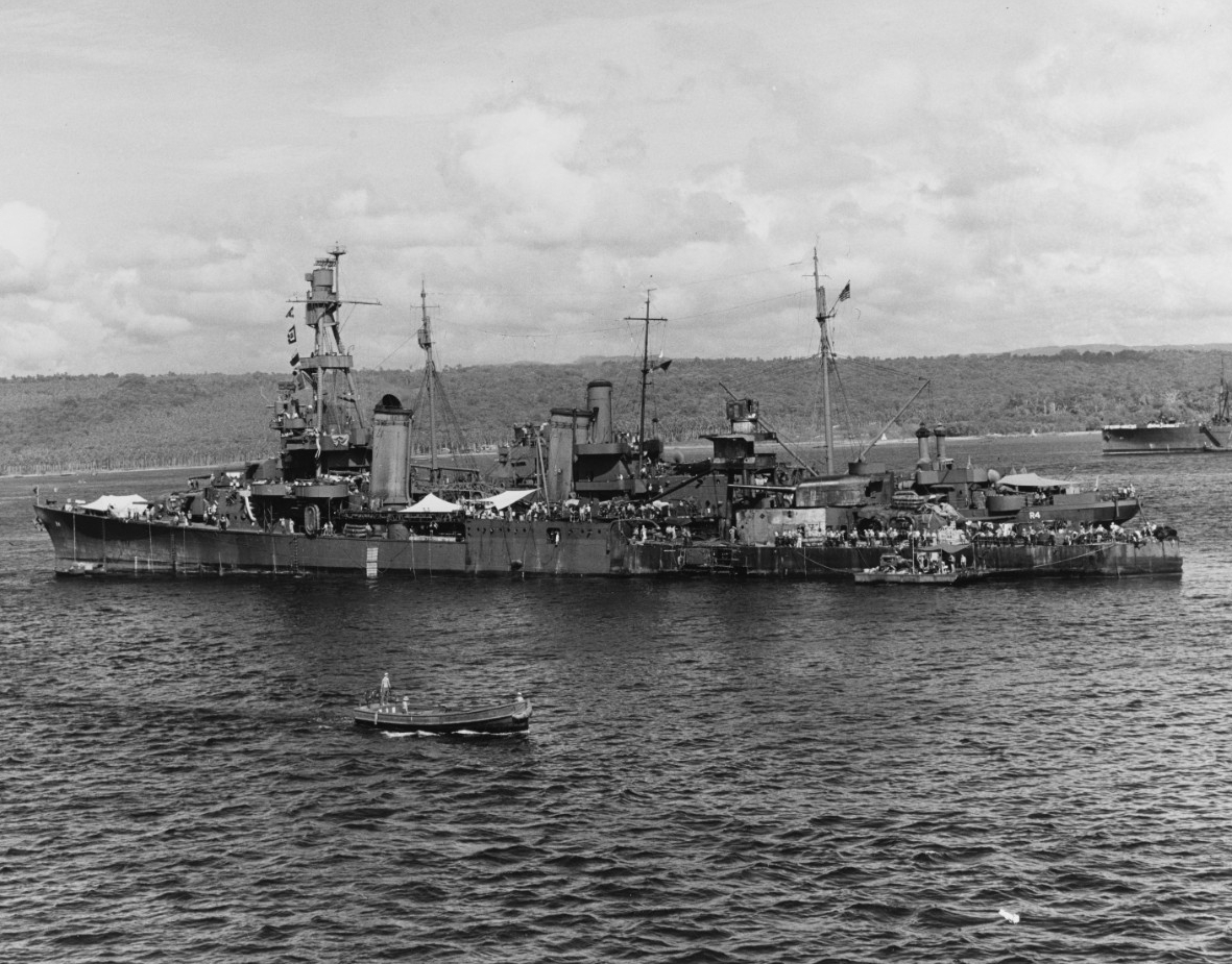 Photo #: 80-G-33862  USS Pensacola (CA-24)