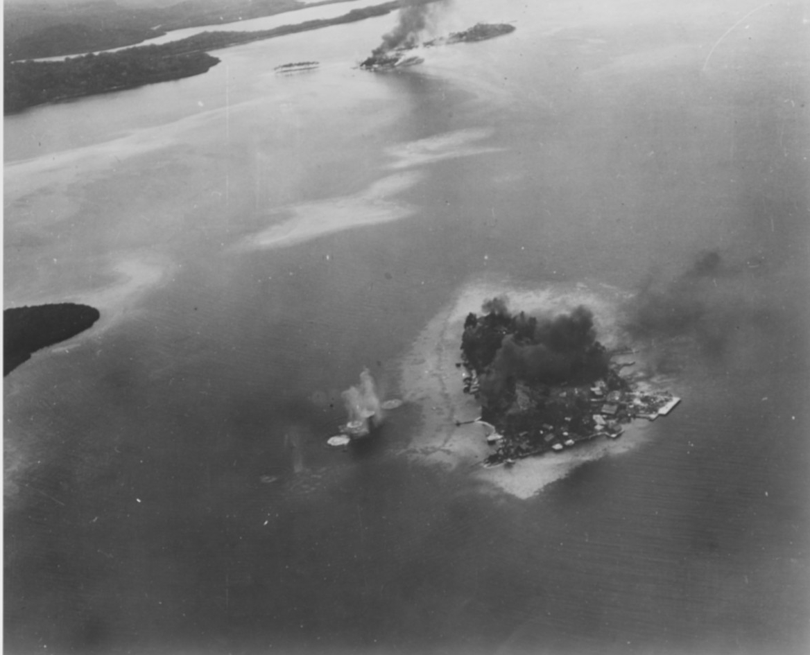 Photo #: NH 97745  Guadalcanal-Tulagi Operation, August 1942