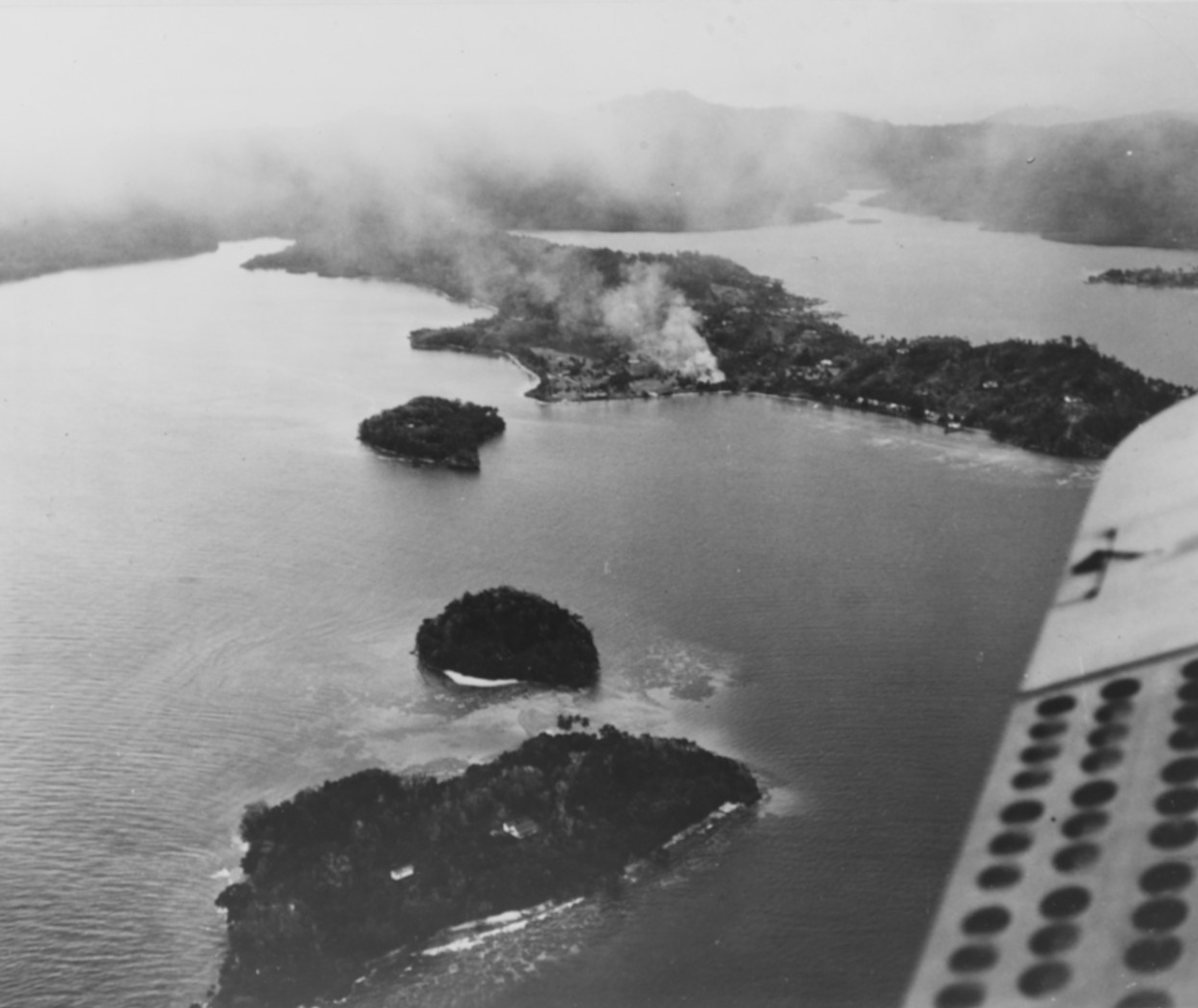 Photo #: NH 97742  Guadalcanal-Tulagi Operation, August 1942