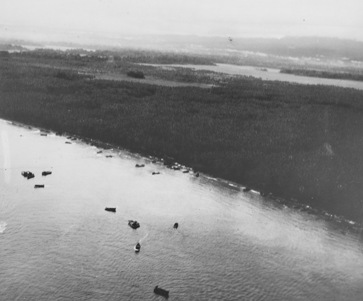 Photo #: NH 97760  Guadalcanal-Tulagi Operation, August 1942