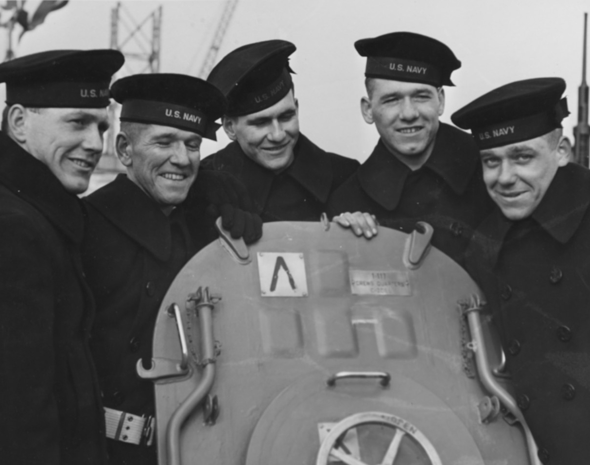 Photo #: NH 52362  The five Sullivan Brothers