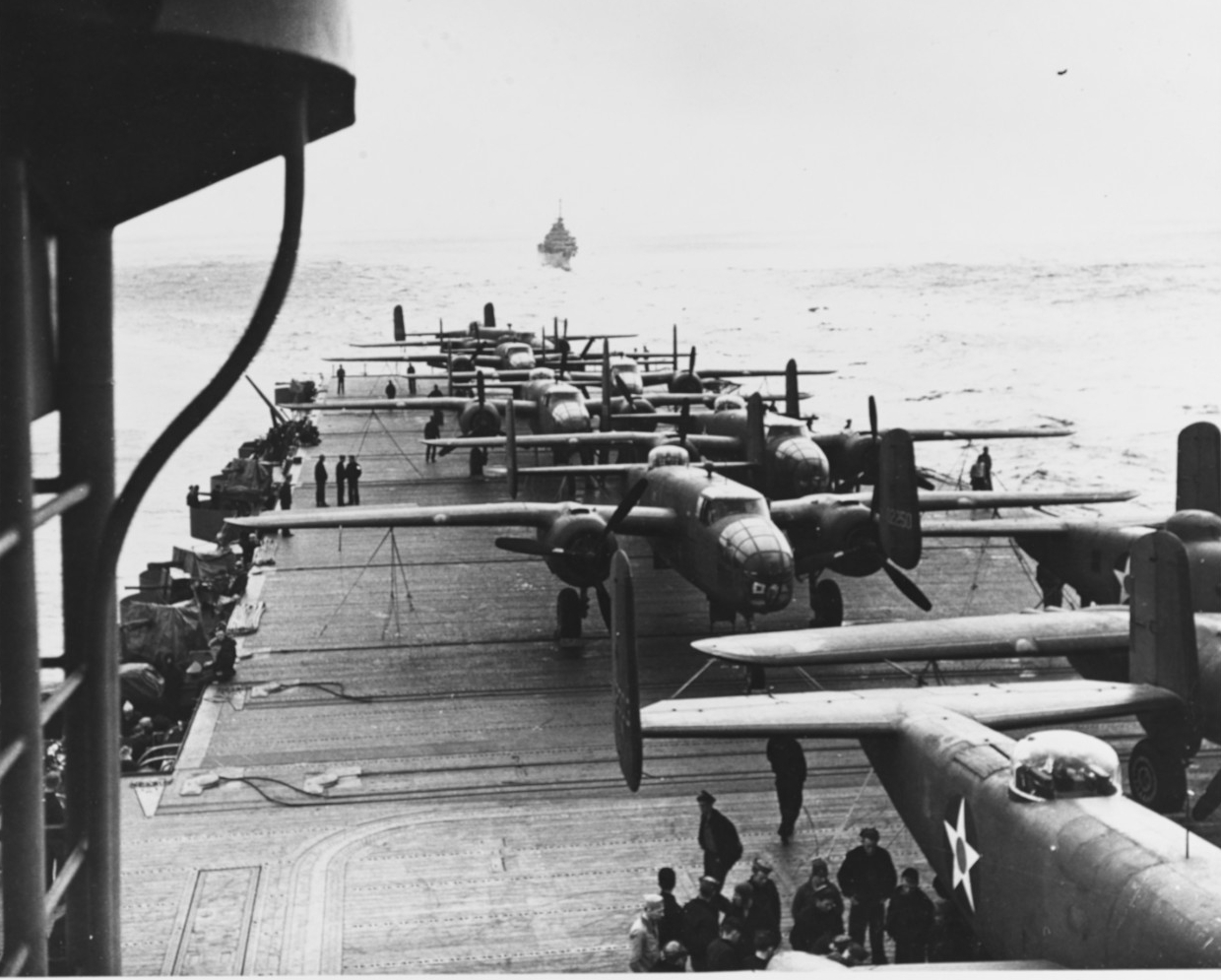 Photo #: NH 53426  Doolittle Raid on Japan, 18 April 1942
