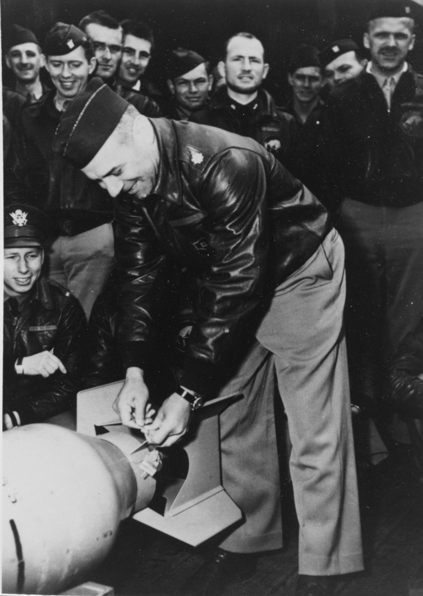 Photo #: NH 102457  Lieutenant Colonel James H. Doolittle, USAAF