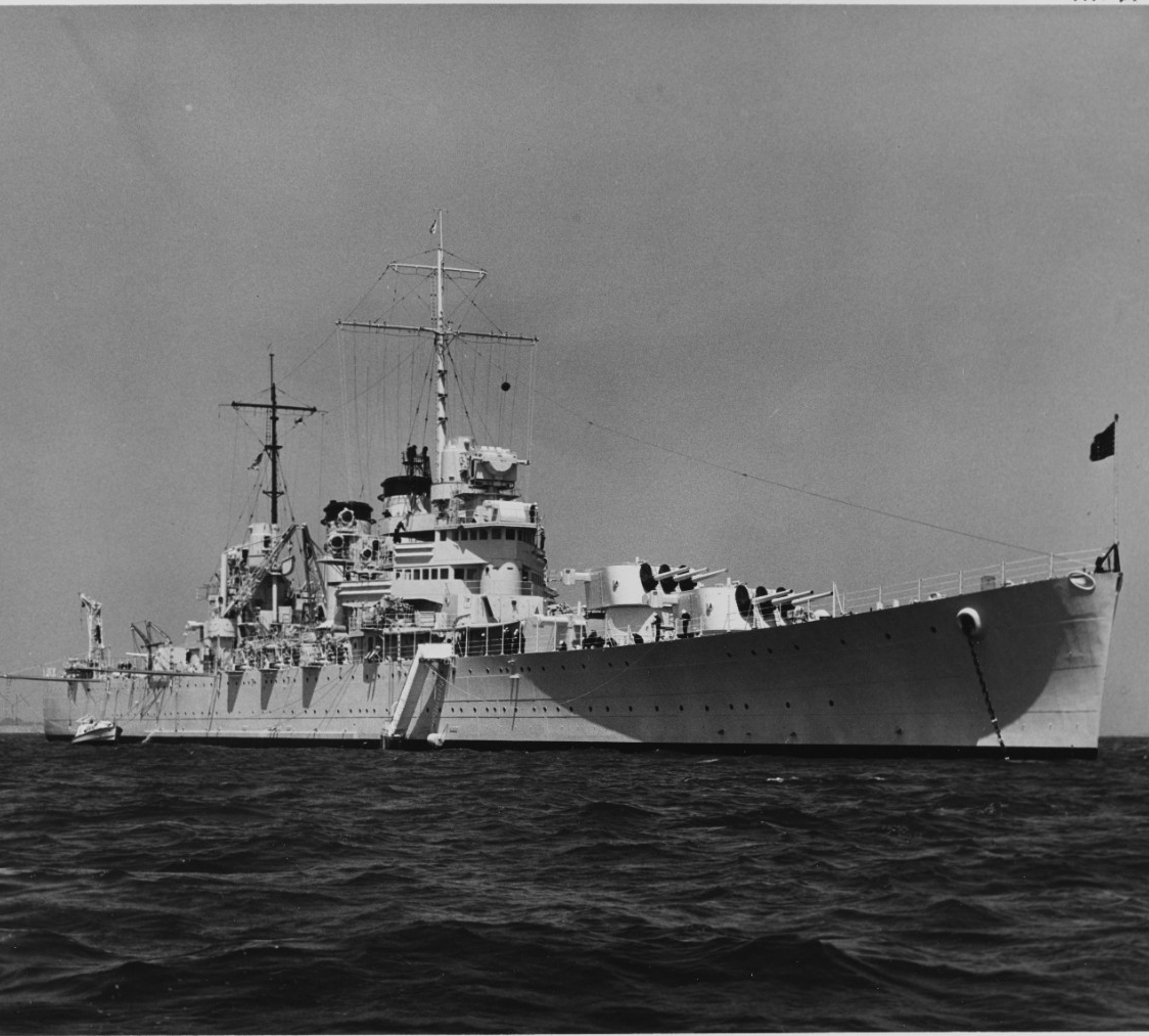Photo #: NH 97779  USS Boise (CL-47)