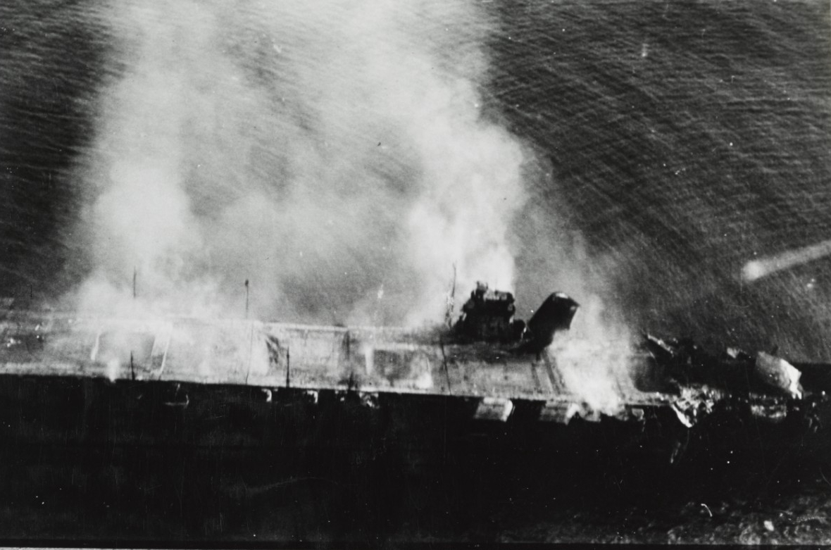 Photo #: NH 73064  Battle of Midway, June 1942