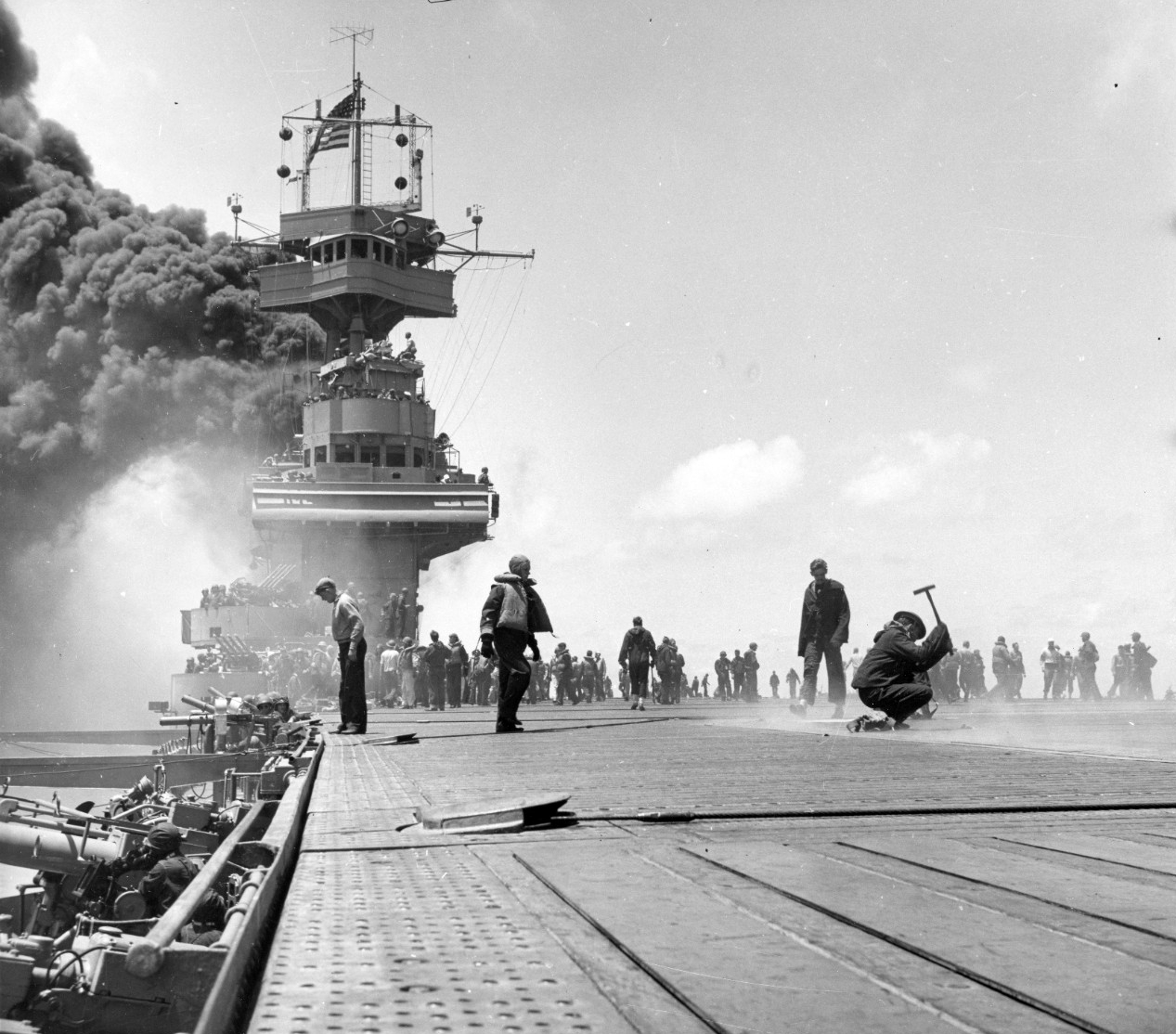Photo #: 80-G-41686  Battle of Midway, June 1942
