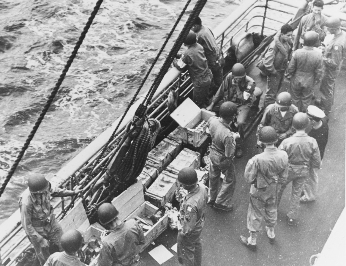 Photo #: SC 255942  North Africa invasion, November 1942
