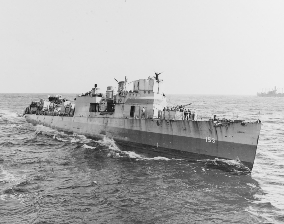 Photo #: 80-G-31434  USS Bernadou