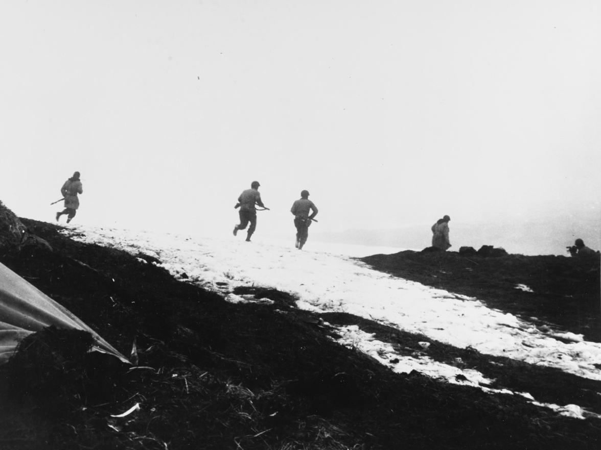 Attu Invasion, May 1943