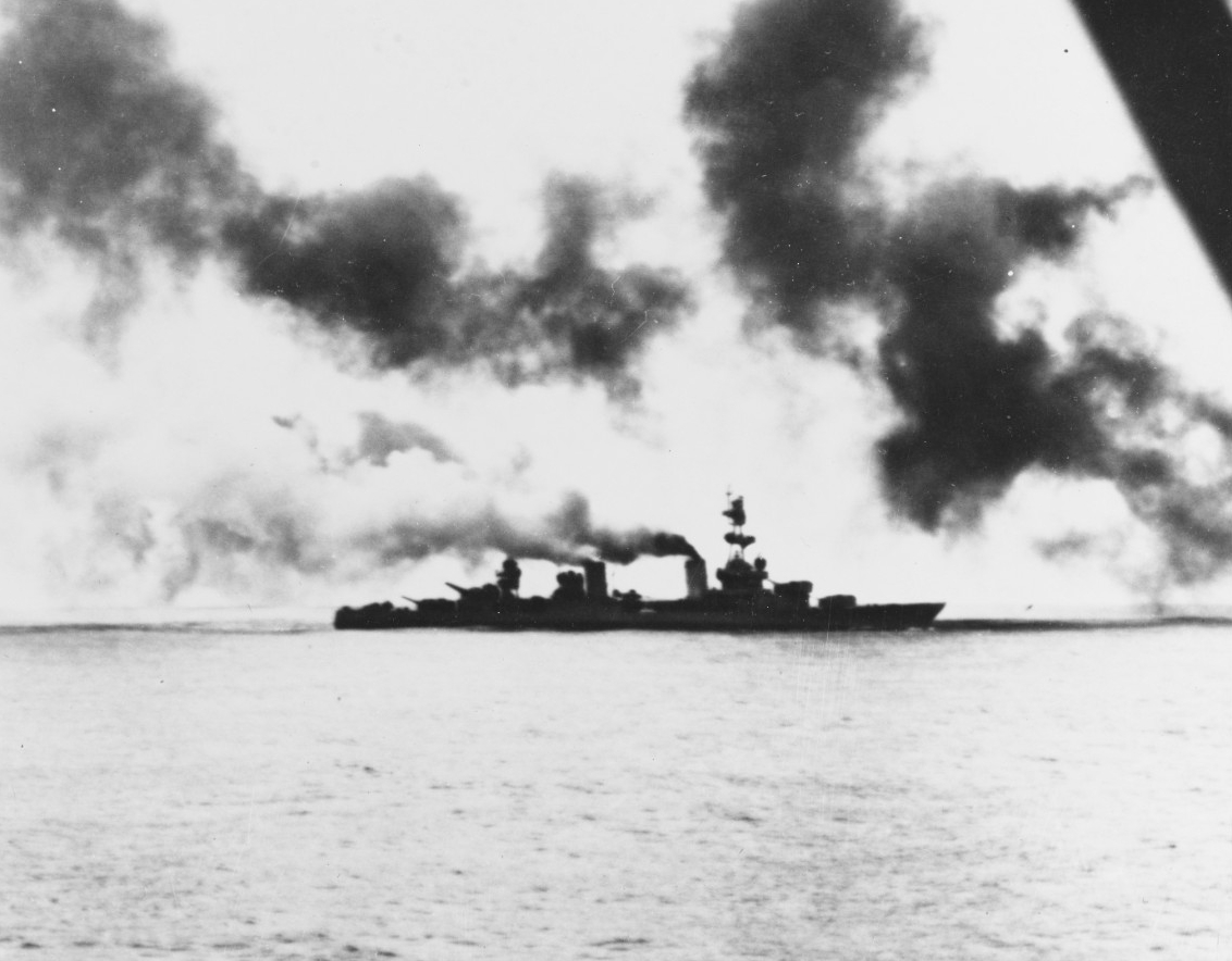 Photo #: 80-G-73827  Battle of the Komandorski Islands