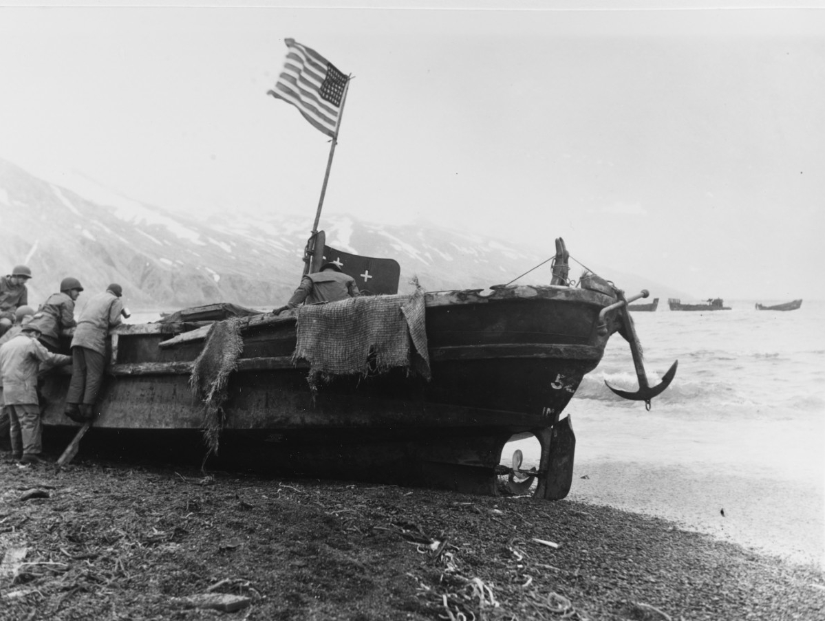 Attu Invasion, May 1943.