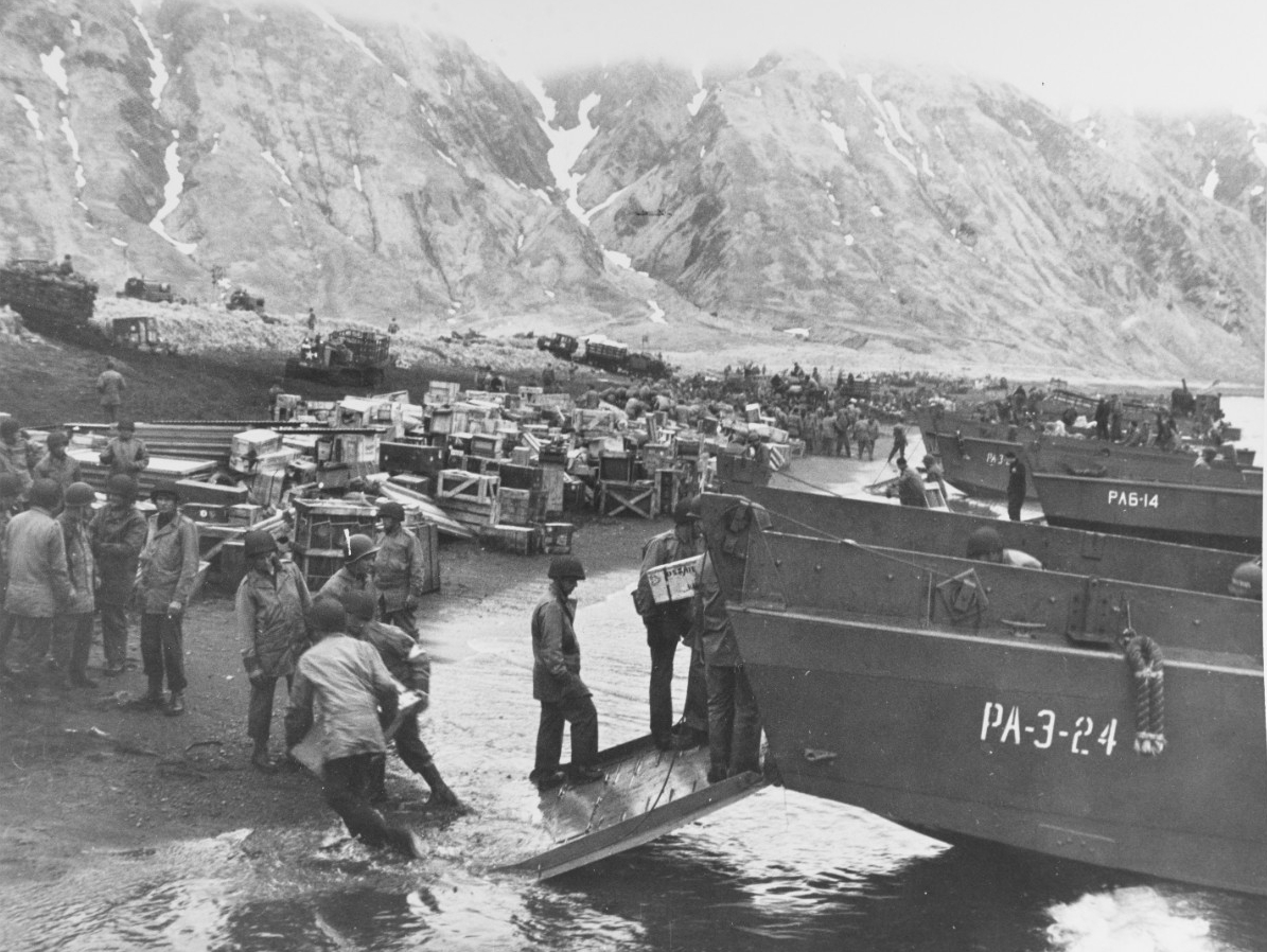 Photo #: 80-G-50921  Attu Invasion, May 1943