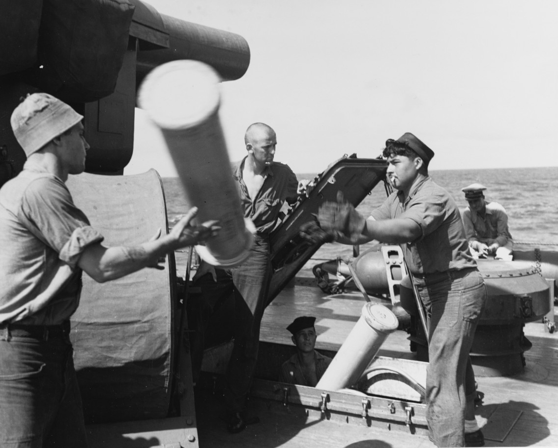 Battle of Kula Gulf, 5-6 July 1943