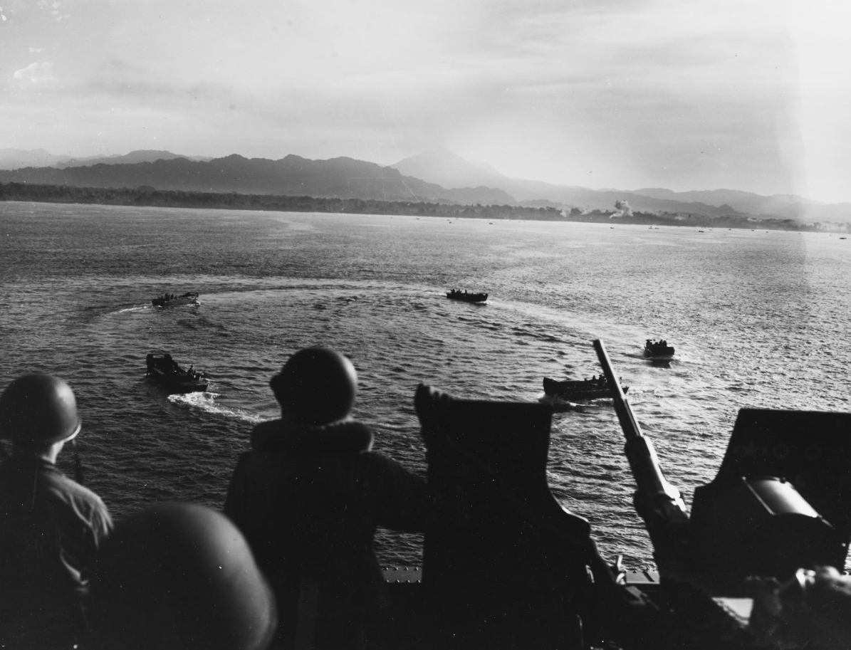 Photo #: USMC 67319  Bougainville Campaign, 1943-44