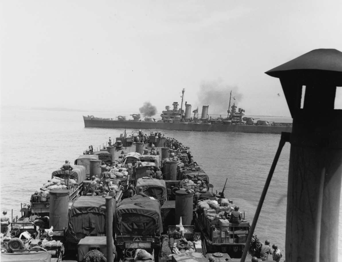 Photo #: SC 175981  Sicily Invasion, July 1943