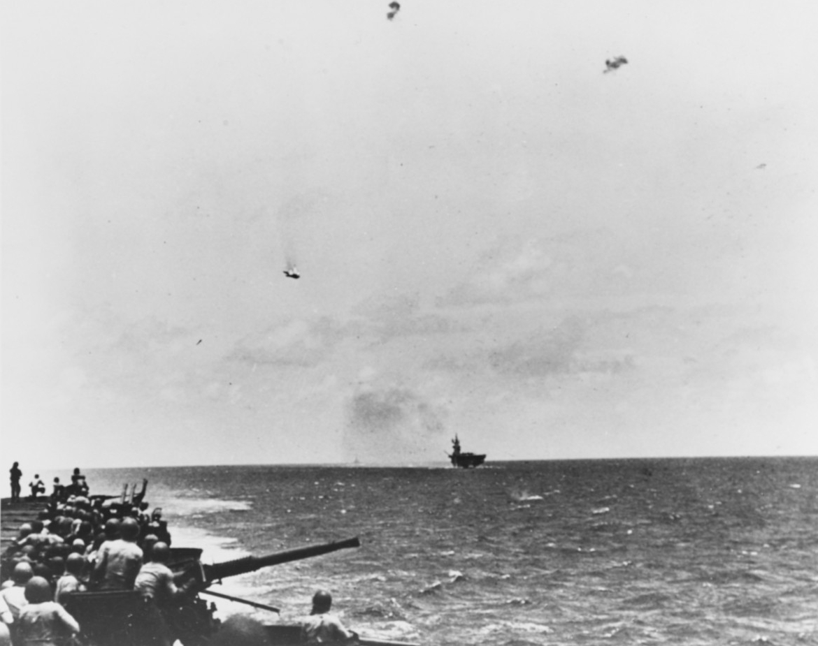 Battle of The Philippine Sea, June 1944.