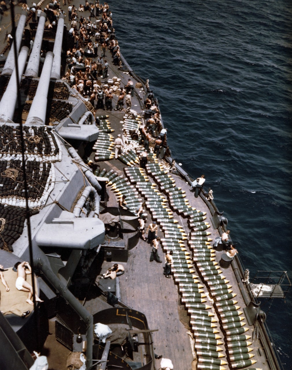 Photo #: 80-G-K-14228 USS New Mexico (BB-40)