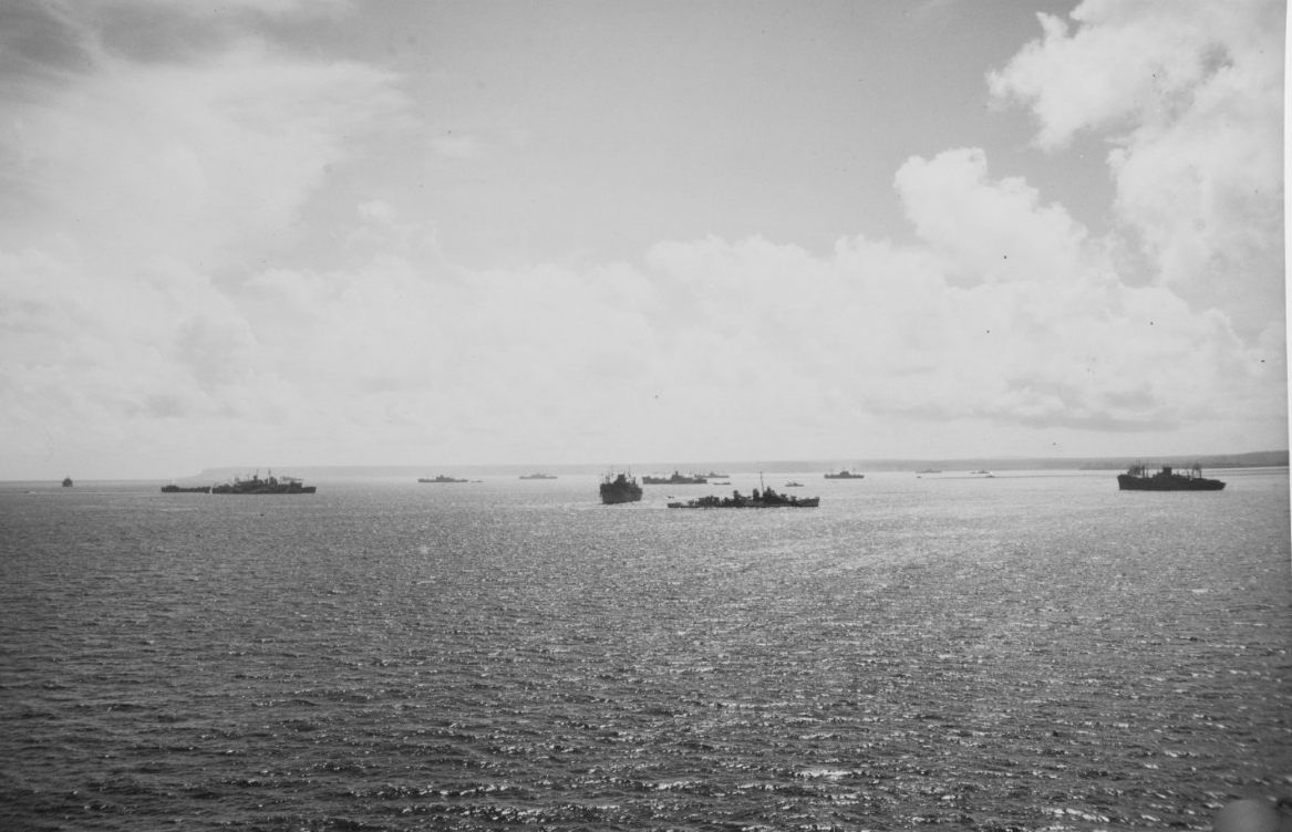 Guam Invasion, July 1944