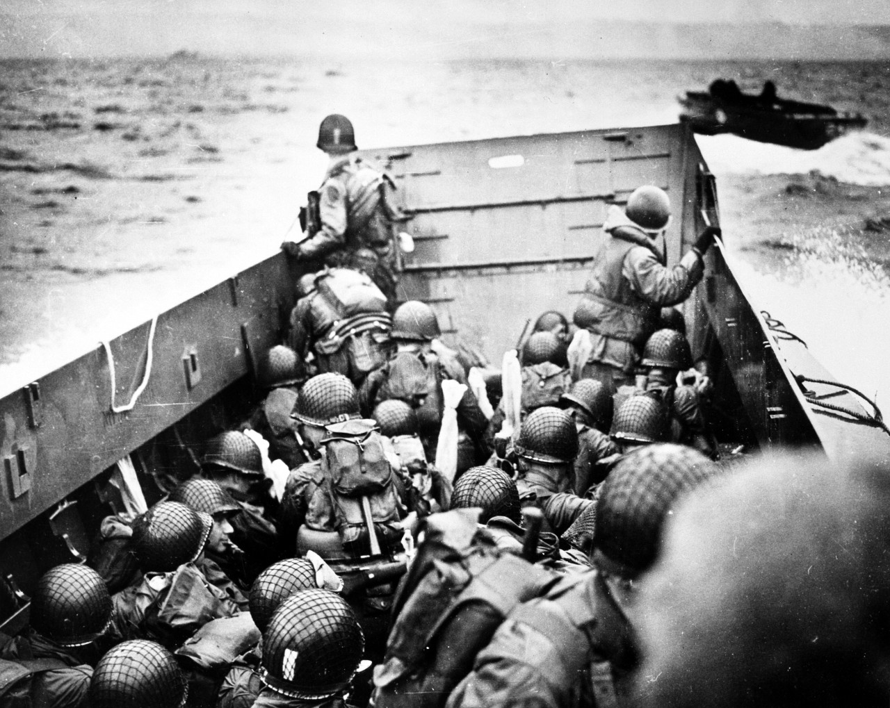 Photo #: 26-G-2340  Normandy Invasion, June 1944