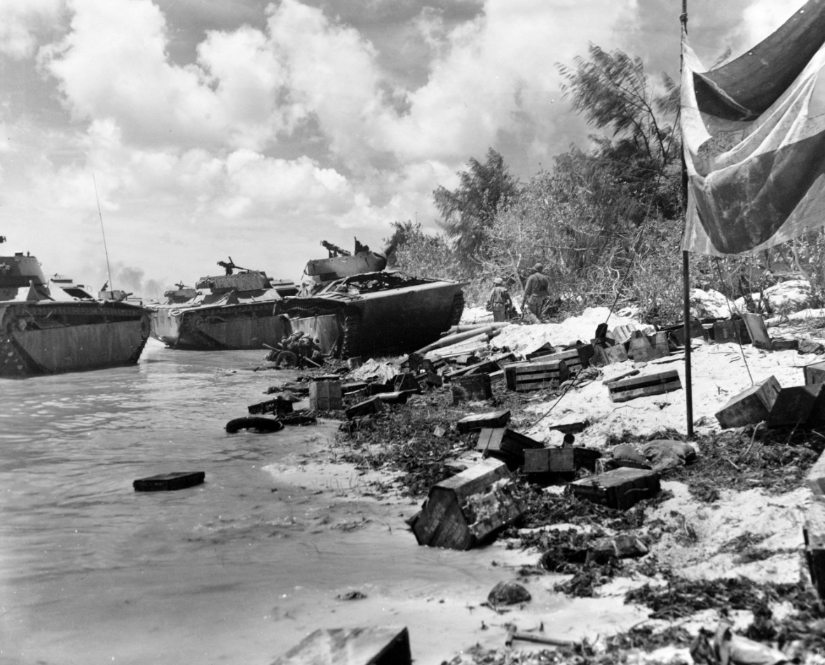 Saipan Invasion, June 1944
