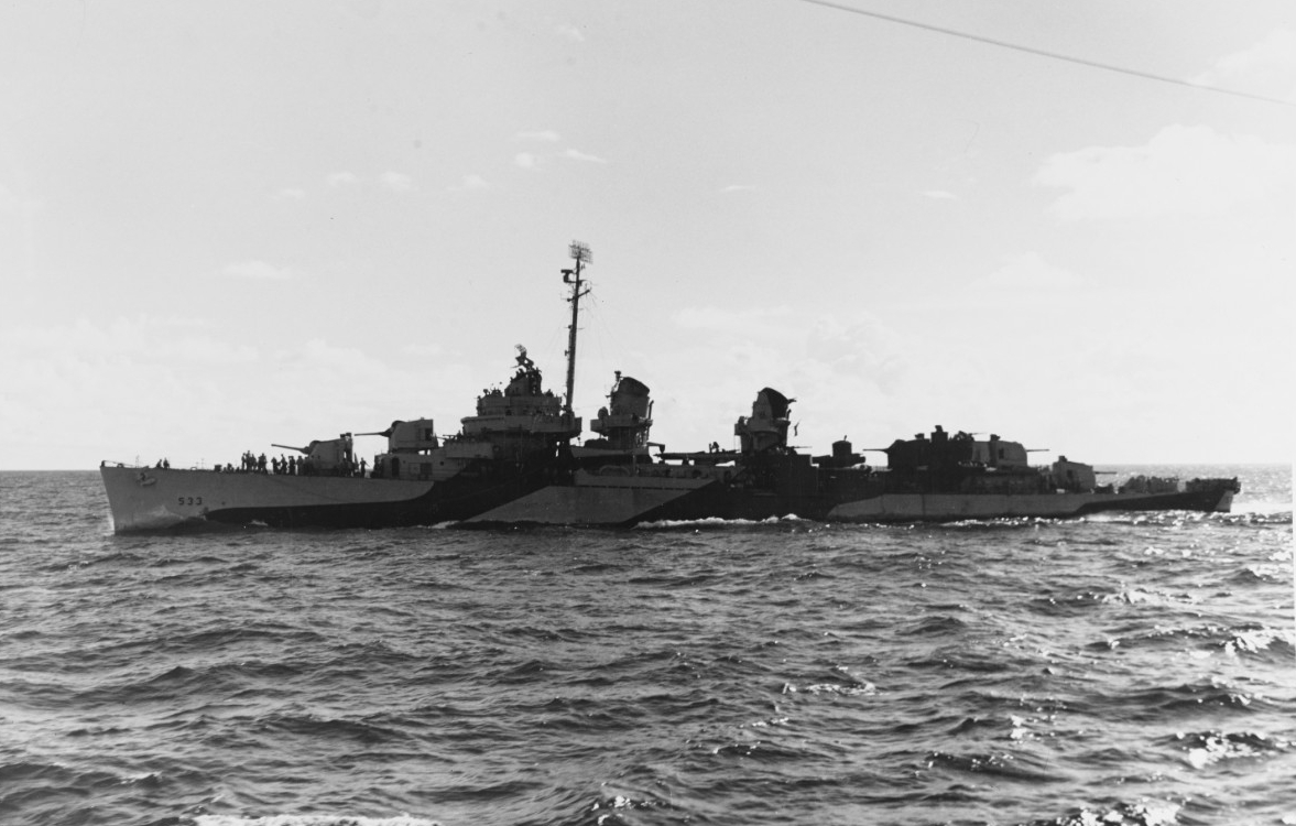 Photo #: 80-G-248122  USS Hoel (DD-533)