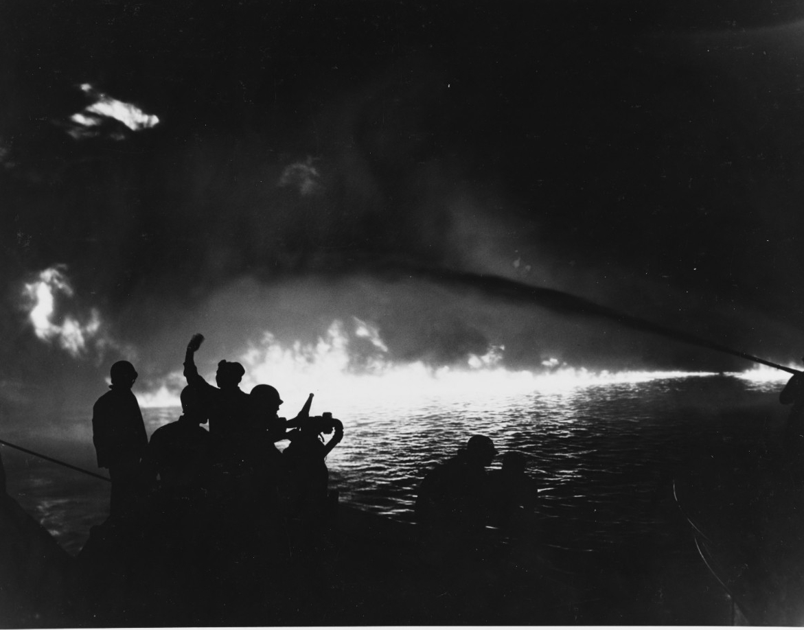 Pearl Harbor LST Explosion, 21 May 1944