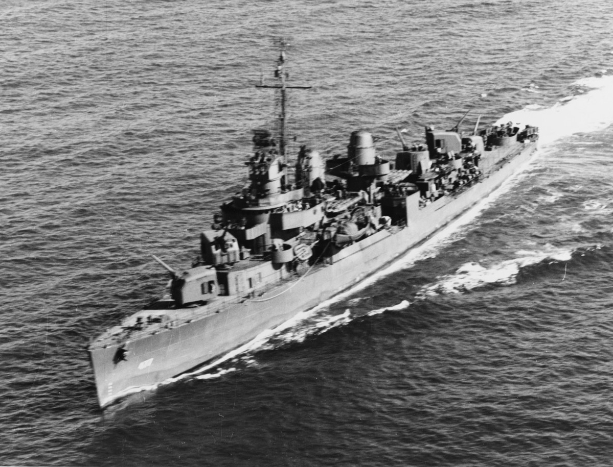 USS PRINGLE (DD-477)