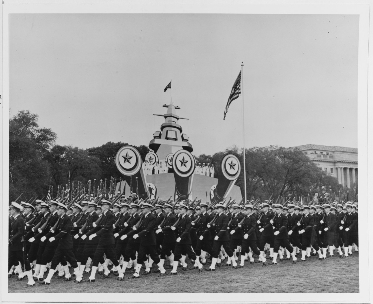 The Nation's Capital Welcomes Admiral Nimitz