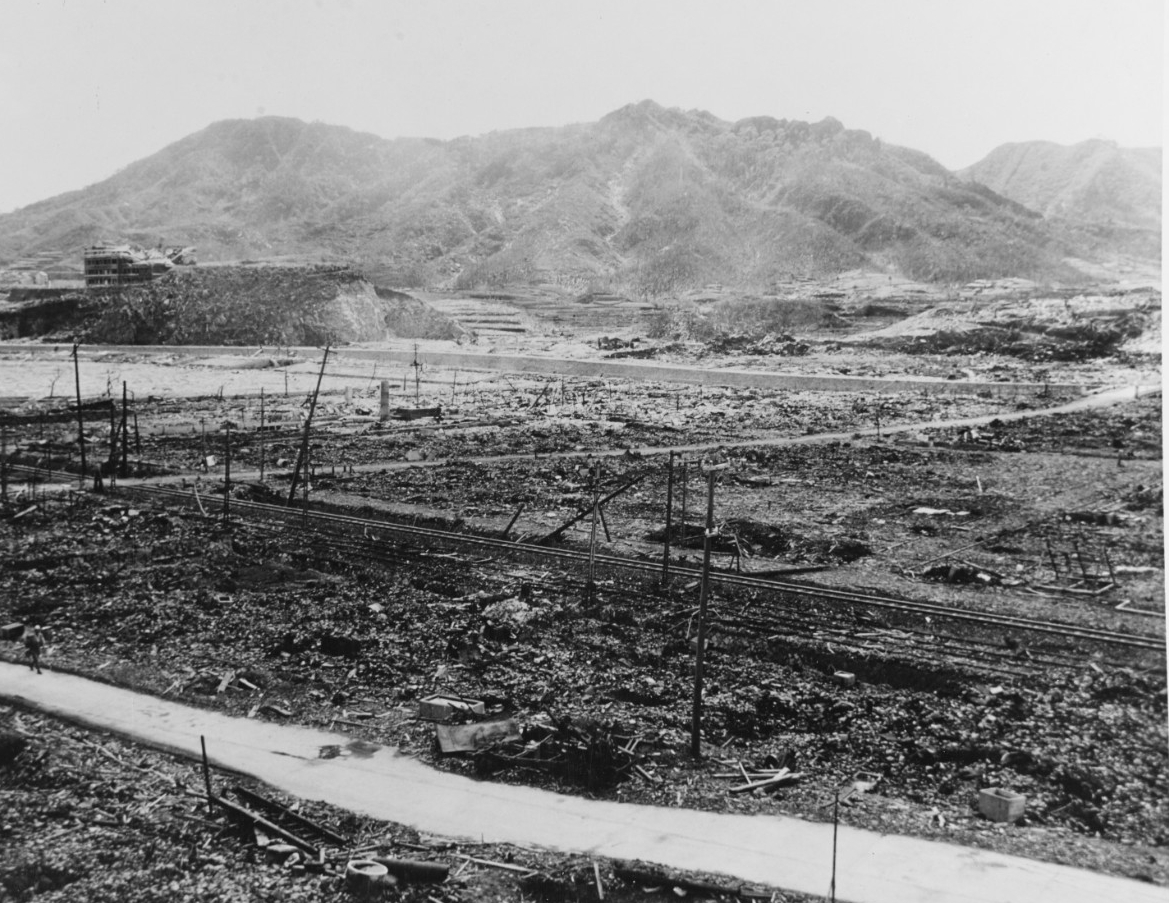 Japan Nagasaki, A-Bomb Damage