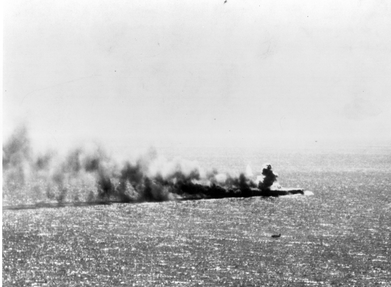Photo #: 80-G-17047  Battle of Coral Sea, May 1942