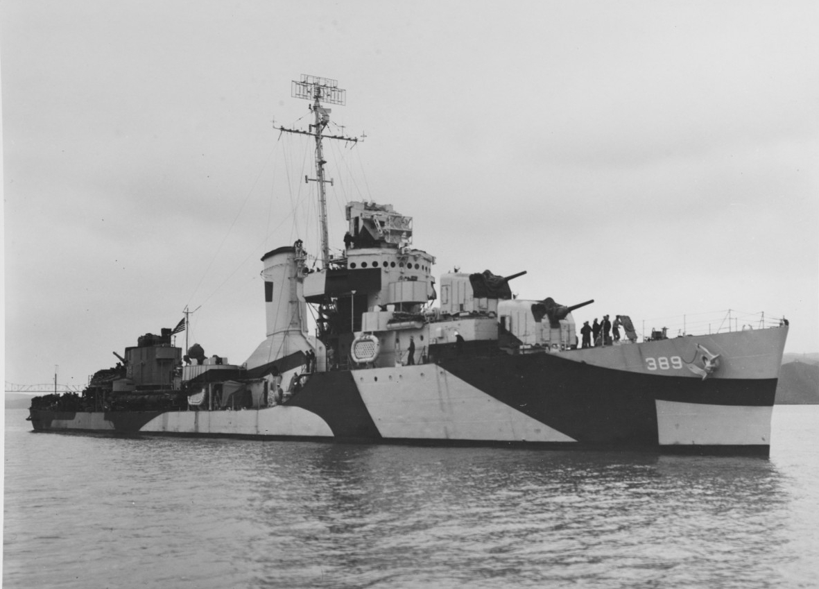 Photo #: 19-N-65301  USS Mugford (DD-389)
