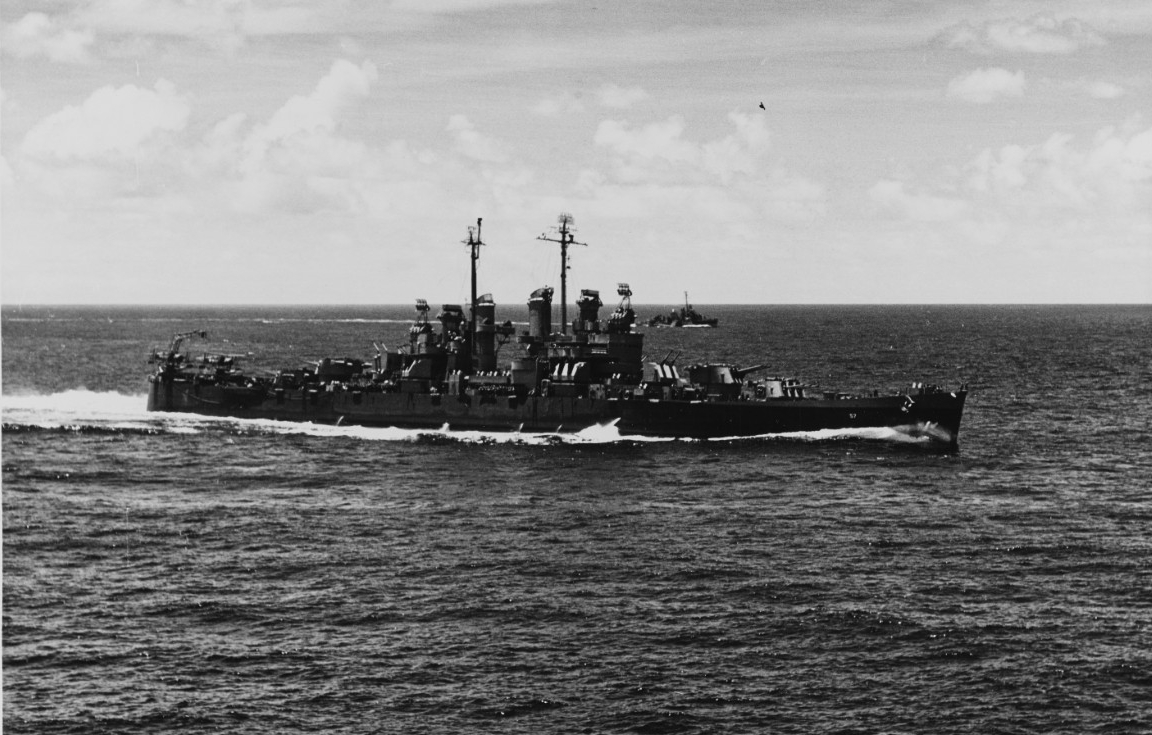 Photo #: NH 98085  USS Montpelier (CL-57)
