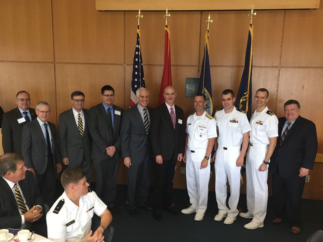 photo of 2017 CNO Naval History Essay winners