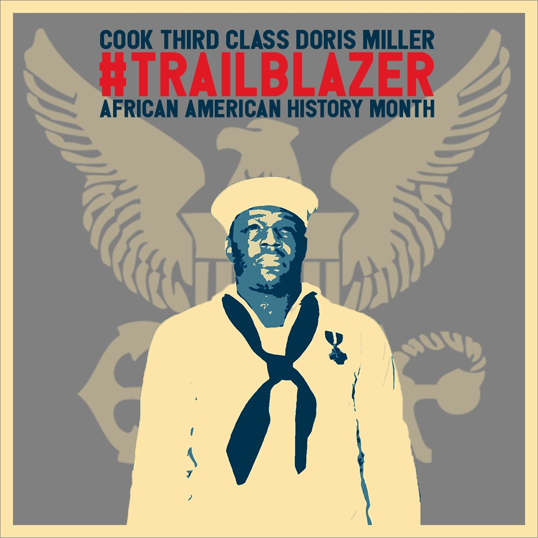 Graphic of Doris Miller