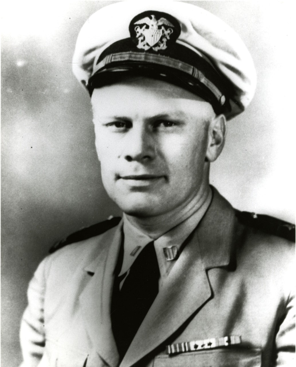 An undated file photo of U.S. Navy Lt. Gerald R. Ford taken during World War II