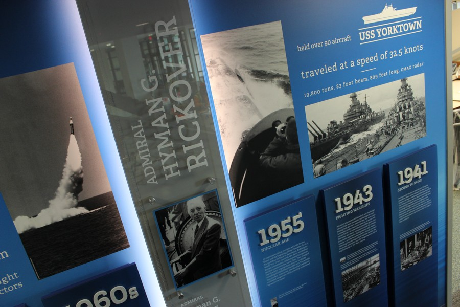 Shipbuilding history that spans form the beginning of the U.S. Navy through modern time