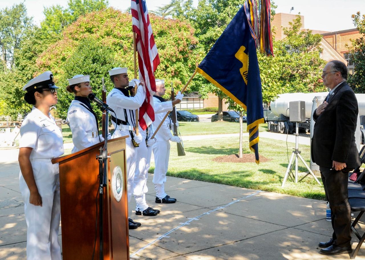 NHHC Commemorates 100th Anniversary of Naval Railway Gun