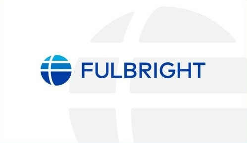 blue logo that reads Fullbright with a blue sphere to the left.