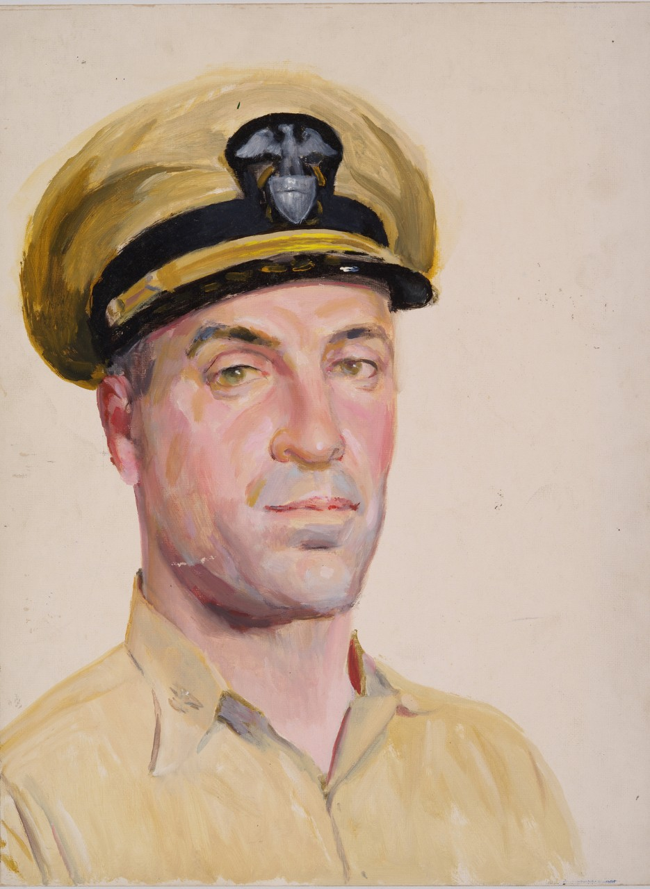 A portrait of a naval officer