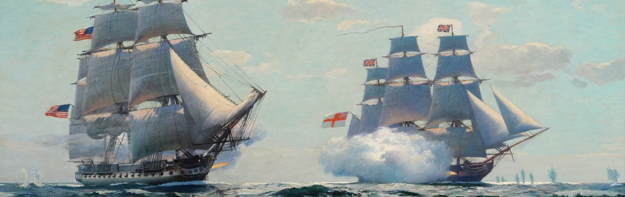 <p>USS Constitution vs HMS Java</p>