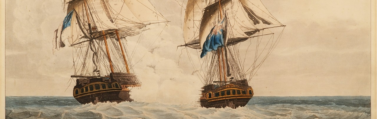 <p>To the Captain, Officers and Brave Crew of His Majesty's Frigate Endymion – as an Humble Record of British Skill and Valor of the Gallant Action on the 15<sup>th</sup> day of January &nbsp;With The United States Ship President Commanded by Commodore Decatur</p>