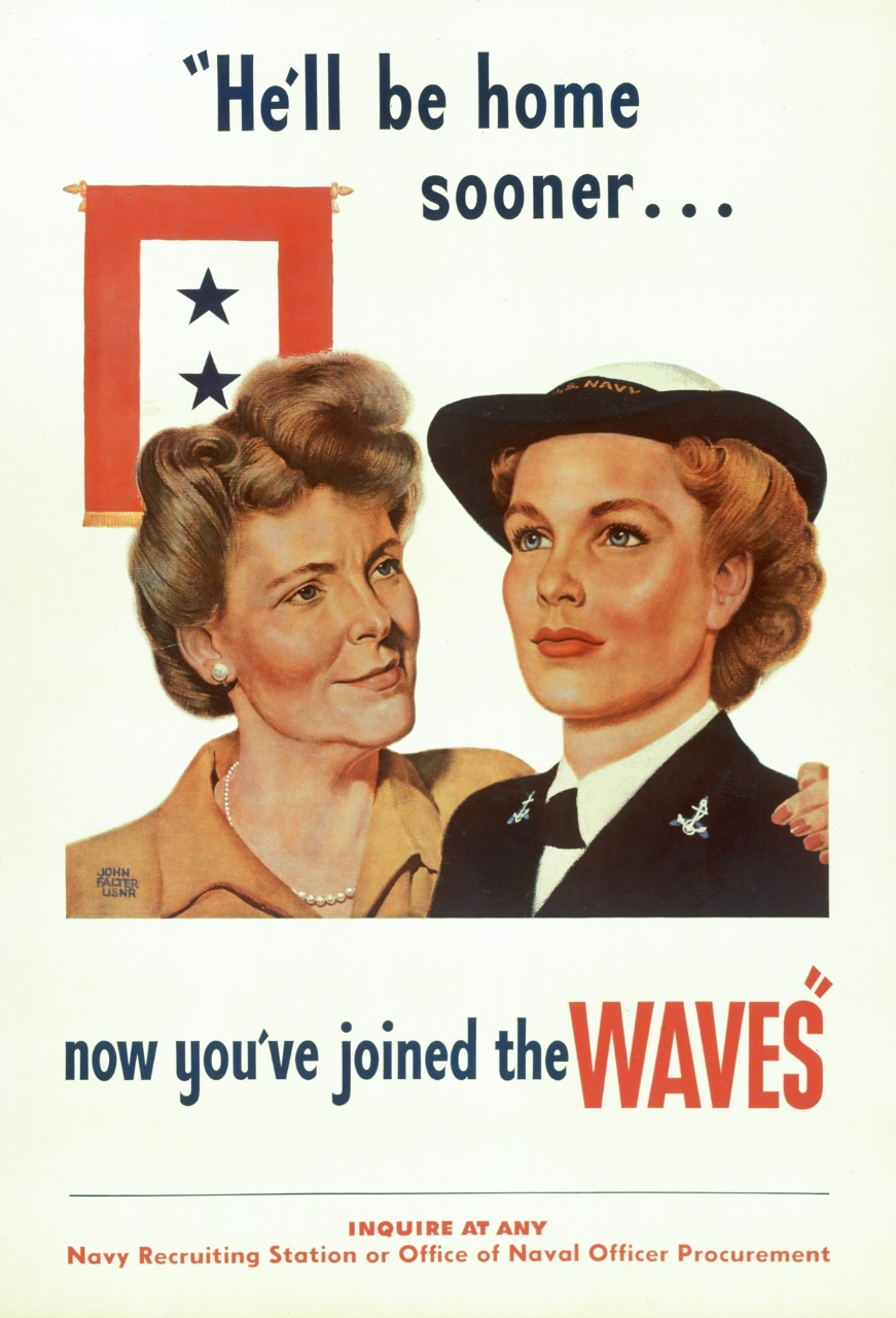 Poster with picture of WAVE with Mother