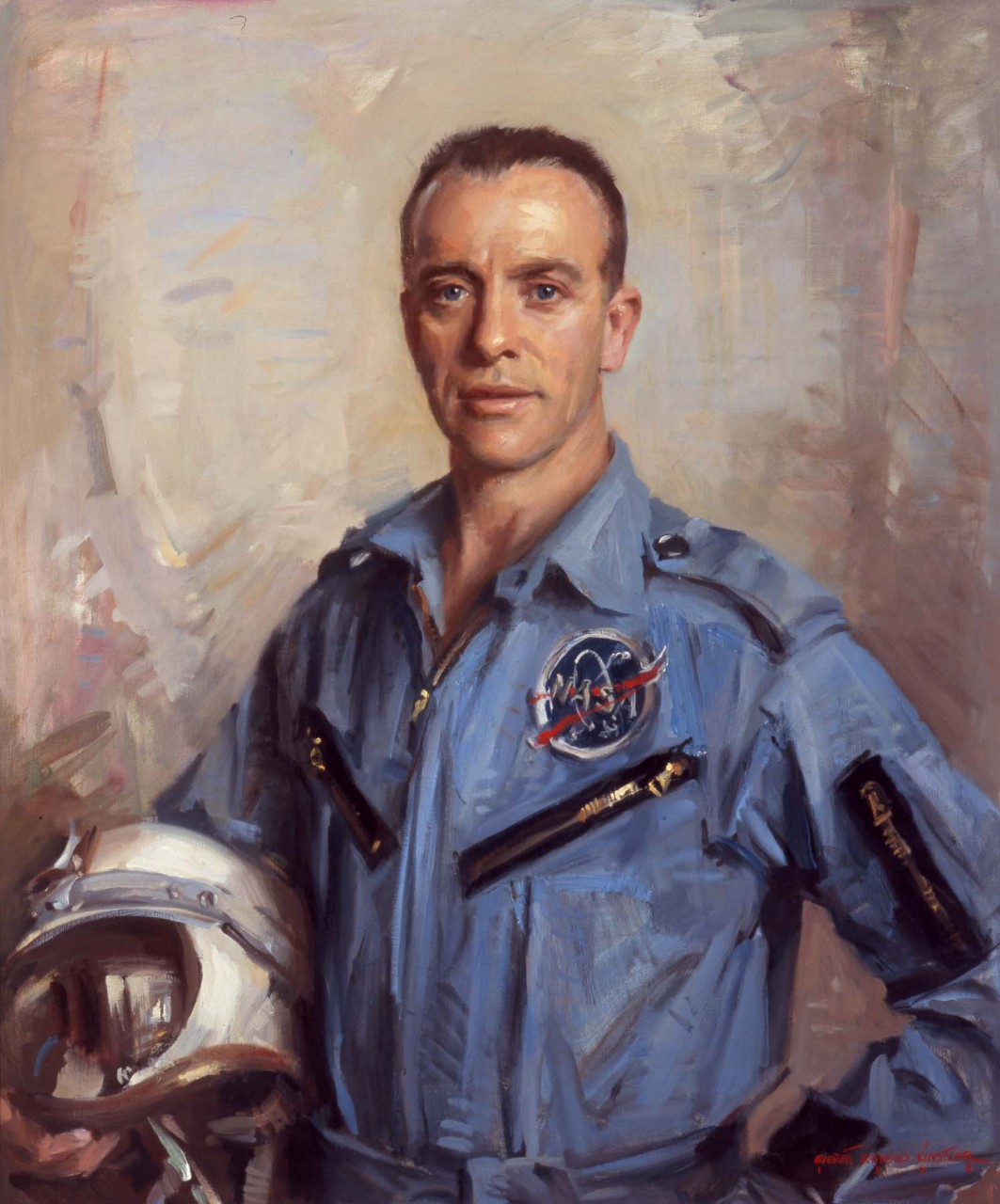 Portrait of Commander Alan B. Shepard