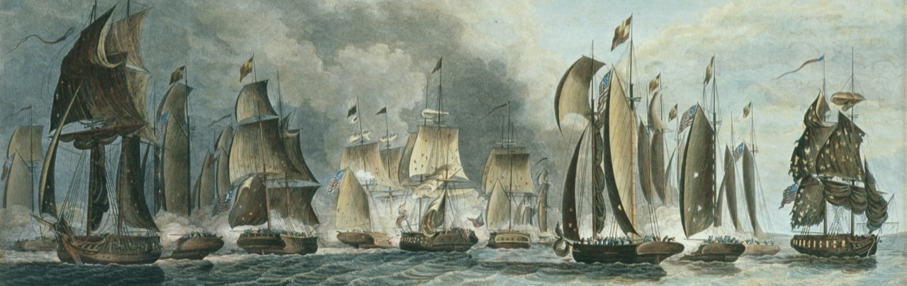 <p>Battle of Lake Erie, Second View</p>