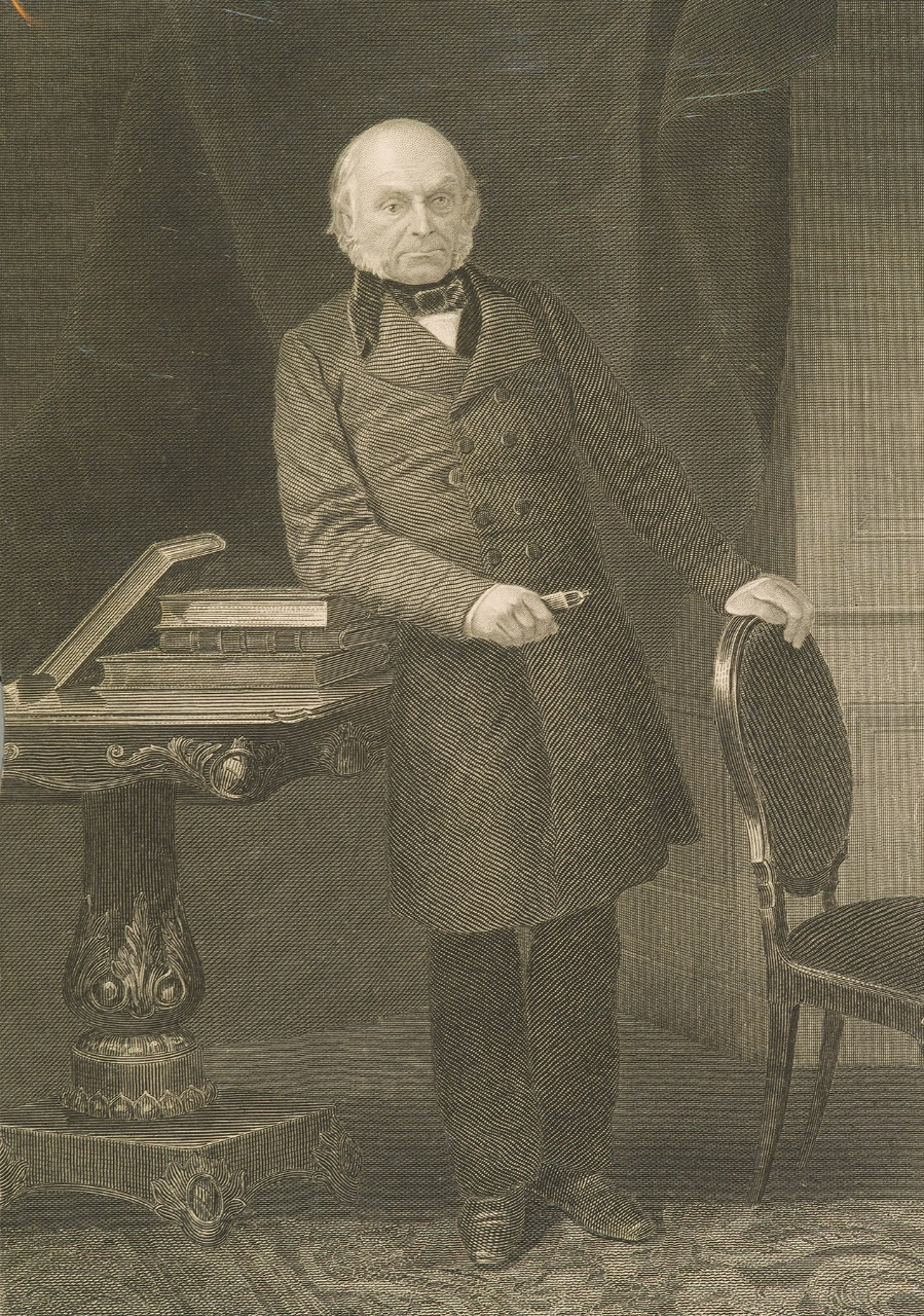 Standing portrait of John Quincy Adams