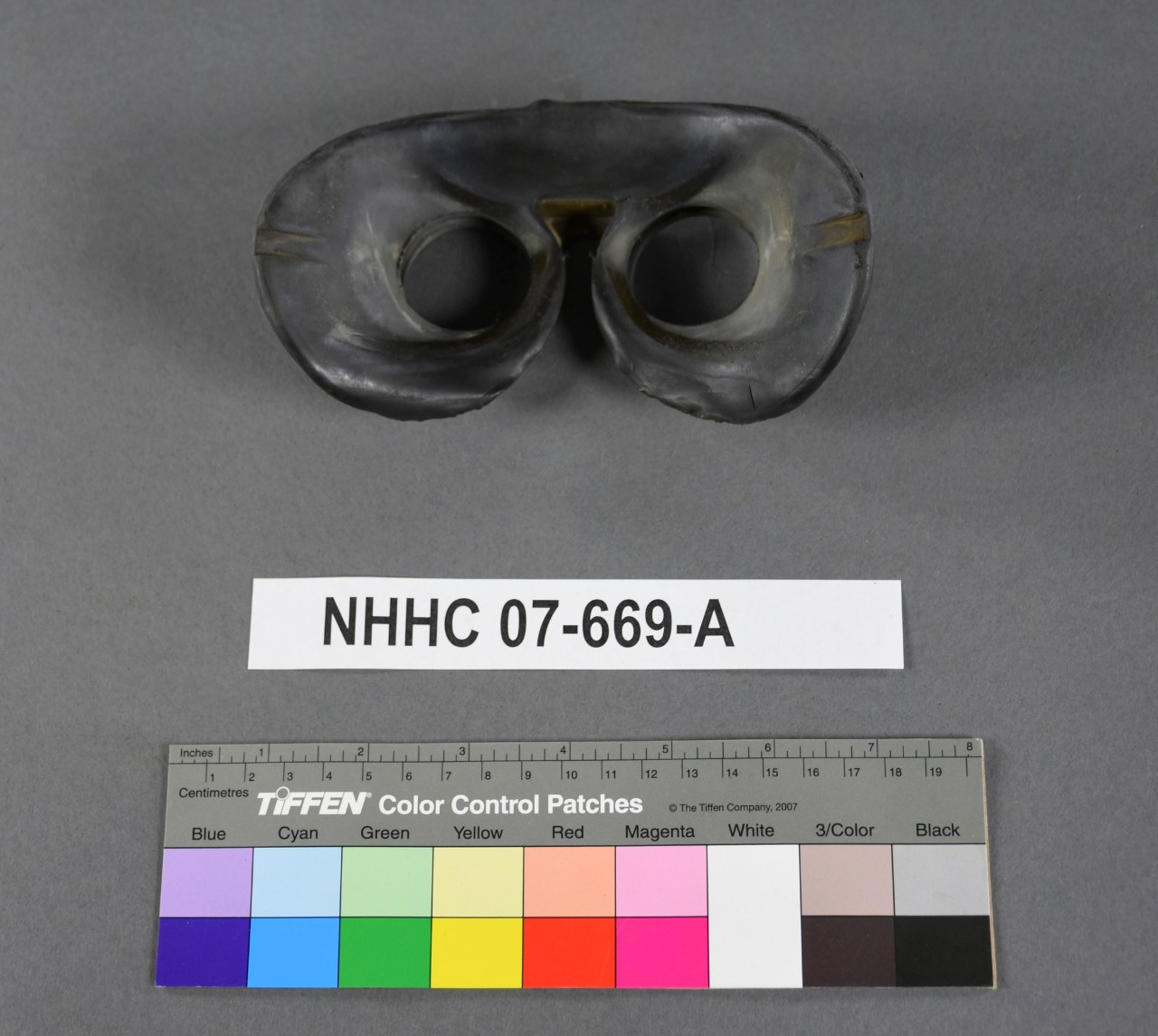 <p>Rubber eyepieces for Japanese Binoculars captured at leyte gulf</p>