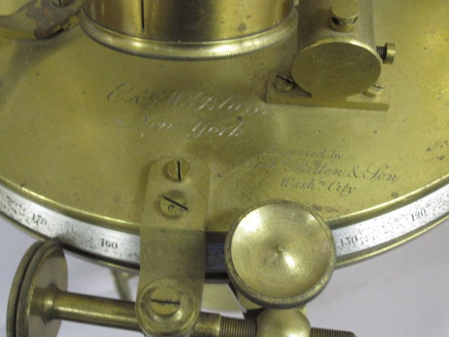 <p>Detail view of Directional Theodolite</p>